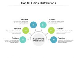 Capital Gains Distributions Ppt Powerpoint Presentation Infographics Demonstration Cpb