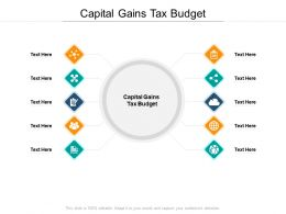 Capital Gains Tax Budget Ppt Powerpoint Presentation Professional Gridlines Cpb