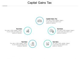 Capital Gains Tax Ppt Powerpoint Presentation Slides Show Cpb