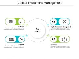 Capital Investment Management Ppt Powerpoint Presentation Infographic Template Cpb
