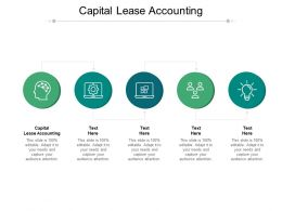 Capital Lease Accounting Ppt Powerpoint Presentation Infographics Inspiration Cpb