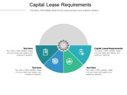 Capital Lease Requirements Ppt Powerpoint Presentation Styles Graphic Tips Cpb