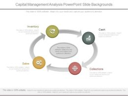 Capital Management Analysis Powerpoint Slide Backgrounds