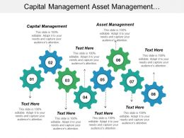 Capital Management Asset Management Telecommunications Planning Marketing Distribution Cpb