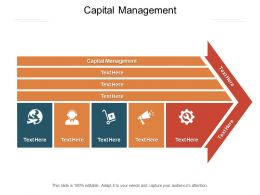 Capital Management Ppt Powerpoint Presentation Show Smartart Cpb