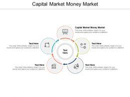 Capital Market Money Market Ppt Powerpoint Presentation Inspiration Rules Cpb