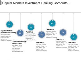 Capital Markets Investment Banking Corporate Strategy Development Alternative Investments Cpb