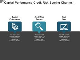 Capital Performance Credit Risk Scoring Channel Sales Strategy Cpb