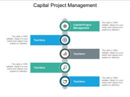 Capital Project Management Ppt Powerpoint Presentation Tips Cpb
