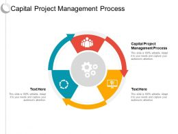 Capital Project Management Process Ppt Powerpoint Presentation Infographics Graphics Design Cpb
