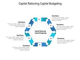 Capital Rationing Capital Budgeting Ppt Powerpoint Presentation Infographic Themes Cpb