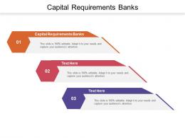 Capital Requirements Banks Ppt Powerpoint Presentation Styles Introduction Cpb