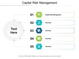 Capital Risk Management Ppt Powerpoint Presentation Infographics Infographics Cpb