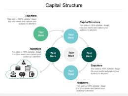 Capital Structure Ppt Powerpoint Presentation Icon Images Cpb