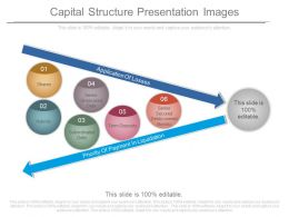 Capital Structure Presentation Images