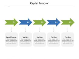 Capital Turnover Ppt Powerpoint Presentation Summary Infographic Template Cpb
