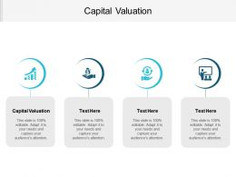 Capital Valuation Ppt Powerpoint Presentation File Designs Cpb