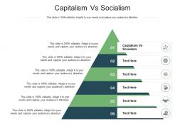 Capitalism Vs Socialism Ppt Powerpoint Presentation Pictures Deck Cpb