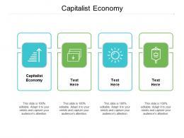 Capitalist Economy Ppt Powerpoint Presentation Styles Cpb