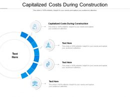 Capitalized Costs During Construction Ppt Powerpoint Presentation Infographics Grid Cpb