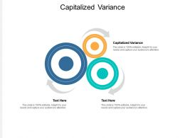 Capitalized Variance Ppt Powerpoint Presentation Gallery Vector Cpb