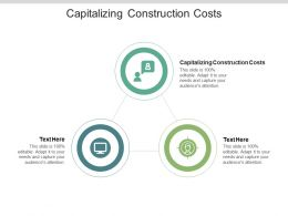 Capitalizing Construction Costs Ppt Powerpoint Presentation Infographic Template Slideshow Cpb