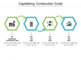 Capitalizing Construction Costs Ppt Powerpoint Presentation Show Graphics Design Cpb