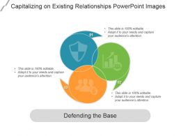 Capitalizing On Existing Relationships Powerpoint Images