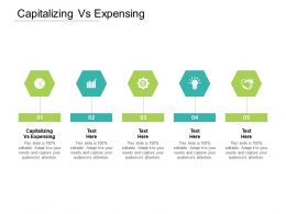 Capitalizing Vs Expensing Ppt Powerpoint Presentation Infographic Template Example Cpb