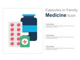 Capsules In Family Medicine Icon