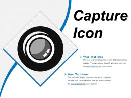 Capture Icon 11 Ppt Slide Themes