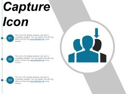 Capture Icon 12 Ppt Slides Download