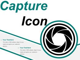 Capture Icon 1 Ppt Images Gallery
