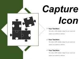 Capture Icon 4 Ppt Sample Presentations