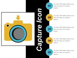 Capture Icon 6 Ppt Samples Download