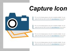 Capture Icon 9 Ppt Slide Examples