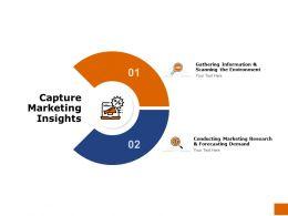 Capture Marketing Insights Environment Ppt Powerpoint Presentation Portfolio