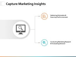 Capture Marketing Insights Ppt Powerpoint Presentation File Backgrounds