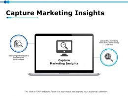 Capture Marketing Insights Ppt Powerpoint Presentation File Objects