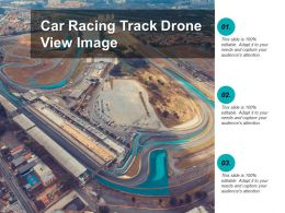 Car Racing Track Drone View Image