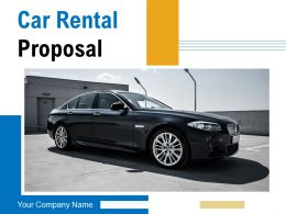 Car Rental Proposal Powerpoint Presentation Slides