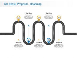 Car Rental Proposal Roadmap Ppt Powerpoint Presentation Gallery Diagrams