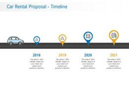 Car Rental Proposal Timeline Ppt Powerpoint Presentation Inspiration Information