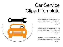 Car Service Clipart Template 1