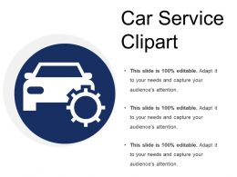 Car Service Clipart Template 2