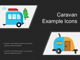 Caravan Example Icons