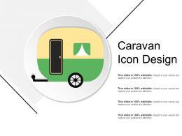 Caravan Icon Design