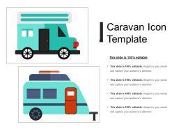 Caravan Icon Template