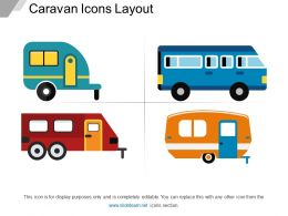 Caravan Icons Layout