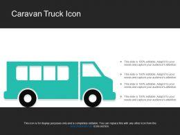 Caravan Truck Icon